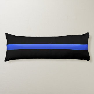 Police Thin Blue Line Body Pillow