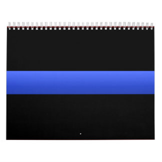 Police Thin Blue Line Calendars