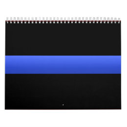 Police Thin Blue Line Calendar