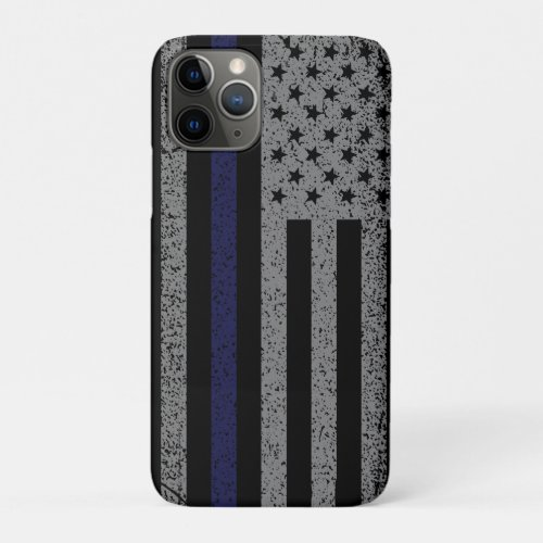 Police Thin Blue Line Flag Case-Mate iPhone Case Phone Case