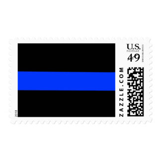 Police Thin Blue Line Postage Stamps