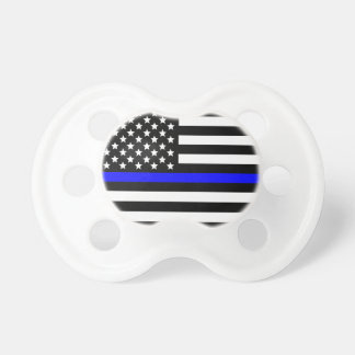 Police Thin Blue Line support Pacifier