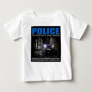 Police To Protect And Serve Kid's T-Shirt
