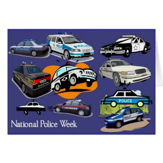 Police Week Greeting Card 3