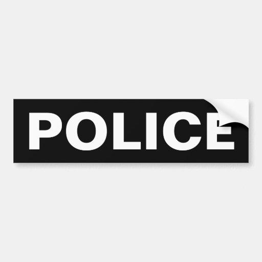 POLICE - White Logo Emblem Car - 12.4KB