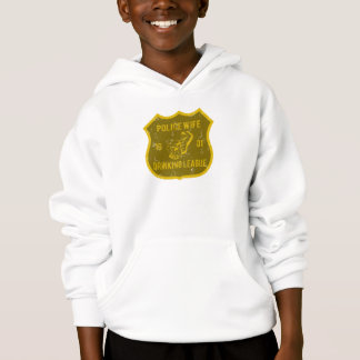 Police Wife Drinking League Hoodie