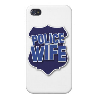 police wife iPhone 4/4S cover