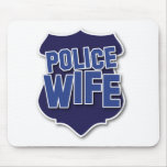 police wife mouse pad