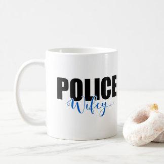 Police Wifey Coffee Mug