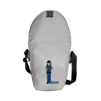 Police Woman - Medium Messenger Bag