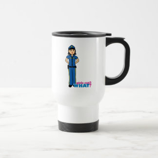 Police Woman - Medium Travel Mug