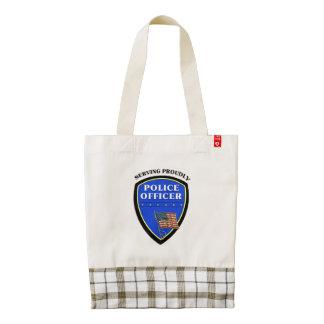 Police Zazzle HEART Tote Bag