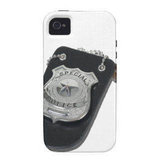 PoliceBadgeGavel090912.png iPhone 4 Covers