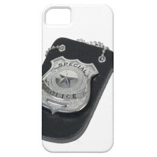 PoliceBadgeGavel090912.png iPhone 5 Case-Mate Funda