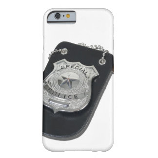 PoliceBadgeGavel090912.png Funda De iPhone 6 Barely There