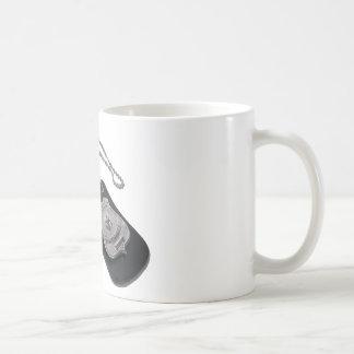 PoliceBadgeLeatherHolder120911 Classic White Coffee Mug