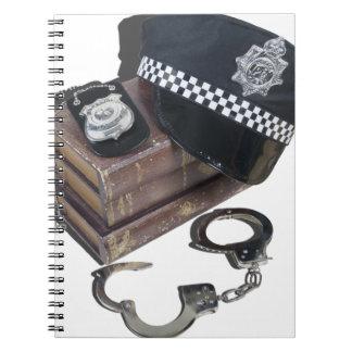PoliceCrimeBooksHatBadgeHandcuffs042113.png Note Book