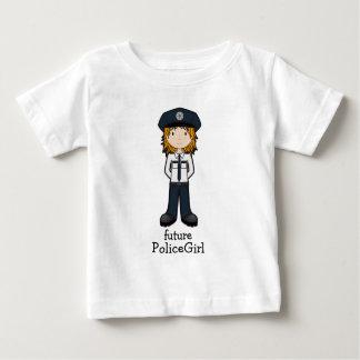 PoliceGirl Baby T-Shirt