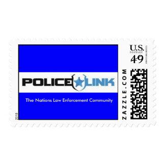 policelink_logo, The Nations Law Enforcement Co... Stamps