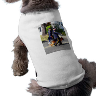 Policeman and Police Dog in Parade Dog Tee
