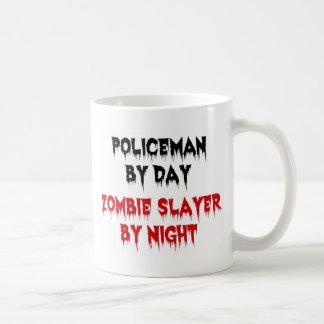 Policeman by Day Zombie Slayer by Night Coffee Mug