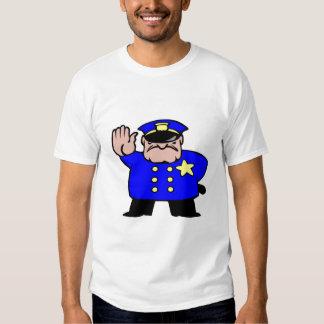 policeman-cartoon, Fight the power T-shirt