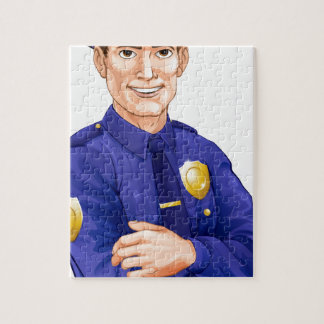 Policeman character puzzles