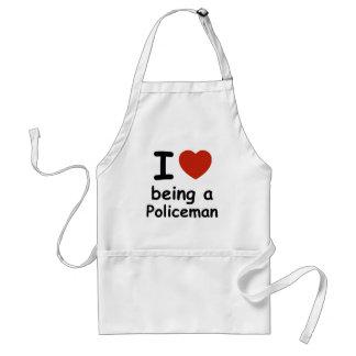 policeman design adult apron