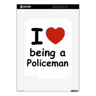 policeman design iPad 2 skins