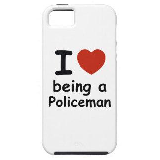 policeman design iPhone SE/5/5s case