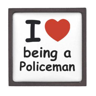policeman design jewelry box