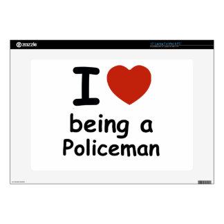 "policeman design skin for 15"" laptop"