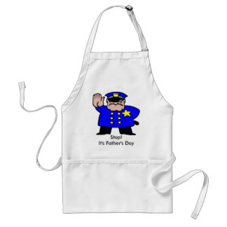 Policeman - Father's Day Adult Apron
