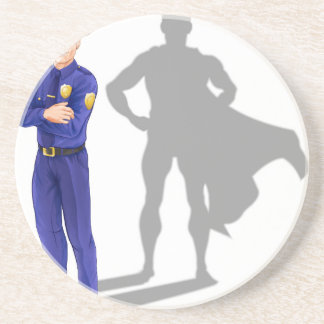 Policeman Hero Coaster