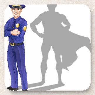 Policeman Hero Coasters