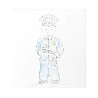 Policeman Scratch Pads