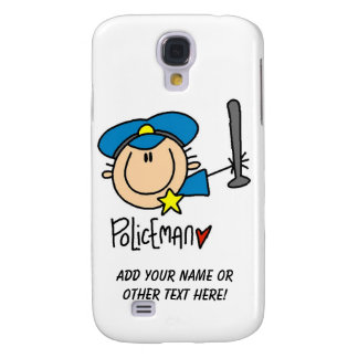Policeman Occupation Galaxy S4 Cover