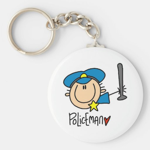 Policeman Occupation Key Chains