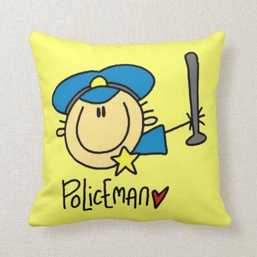 Policeman Occupation Pillow