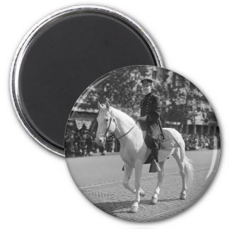 Policeman on White Horse, 1921 Magnet