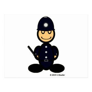 Policeman (plain) postcard