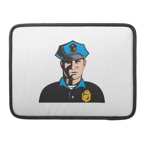 Policeman Police Officer Sleeve For MacBook Pro