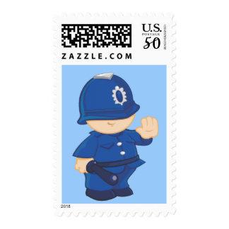 Policeman Postage