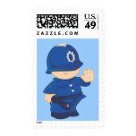 Policeman Postage Stamp