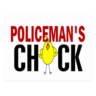 POLICEMAN'S CHICK POST CARDS