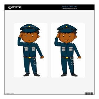 Policeman Skins For Kindle Fire