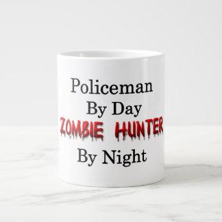 Policeman/Zombie Hunter Giant Coffee Mug