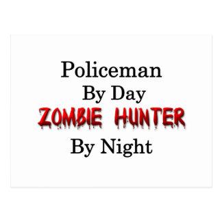 Policeman/Zombie Hunter Postcard
