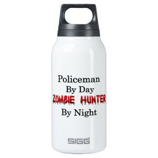 Policeman/Zombie Hunter SIGG Thermo 0.3L Insulated Bottle