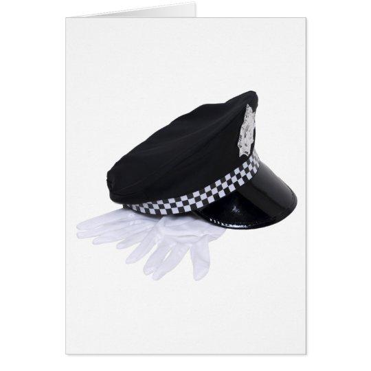 PolicemanHatGloves111009 copy Card
